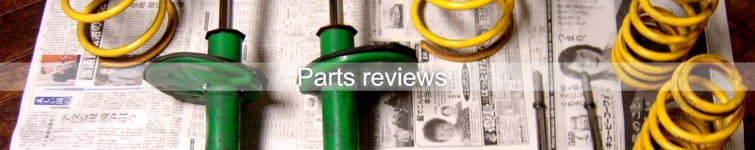 Parts reviews